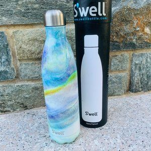 Swell 25oz Blue Green Tie Dye Wash Metal Bottle